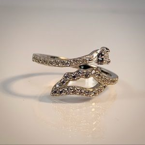 Jewelry - 925 Sterling Silver Zirconia Ring